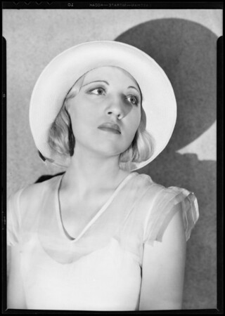 Miss Evanova, Southern California, 1932