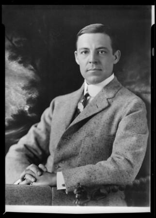 Portrait, M. R. Ebersole, Southern California, 1932