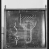 Blackboard - Green vs. May Company, Southern California, 1932