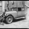 Hudson damage, Jones vs Terhune, Southern California, 1932