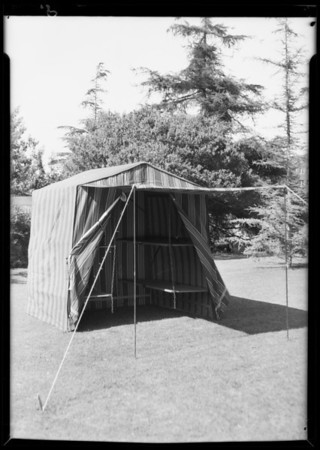 Tent, Southern California, 1931
