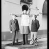 "Ben Hur ""Tallman"" with Mr. Hattem of Ben Hur Coffee Co, Southern California, 1934"