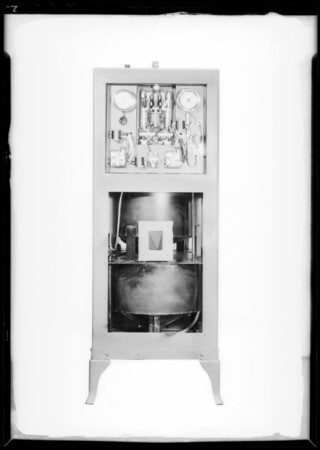 Filter machine, Southern California, 1933