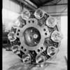 Bread machine parts, Southern California, 1931