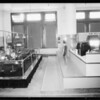 Shots around Ford display on 4th floor, Southern California, 1934