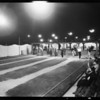 Night views of tennis courts, horseshoe courts & baseball park, Southern California, 1932