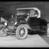 Intersection, East Washington Boulevard and North Holliston Avenue, Pasadena, Ford roadster - J. B. Secrist, assured, Southern California, 1931