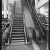 Escalator, May Co., Southern California, 1933