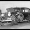 Studebaker sedan, Southern California, 1932