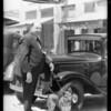Dr. Zilligen, veterinarian, Southern California, 1933