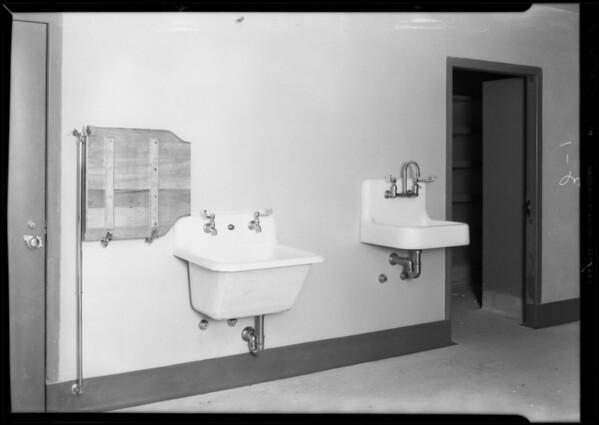 County Hospital, Howe Bros. Plumbing, Los Angeles, CA, 1932
