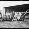 Aeronautics class at Cycloplane Co. hangar, Southern California, 1931