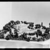 Model of residence, Southern California, 1933