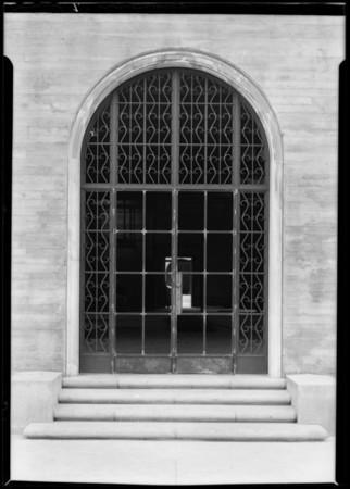 County Hospital, Friedman Co., Los Angeles, CA, 1932