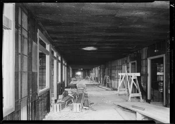 County Hospital, Western Lathing, Los Angeles, CA, 1932