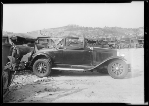 Buick and Ford, Southern California, 1932