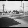 Pontiac and Ford, Intersection of Clara Street and Atlantic Avenue, Bell, CA, 1932