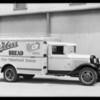 Weber's Bread truck, Southern California, 1933