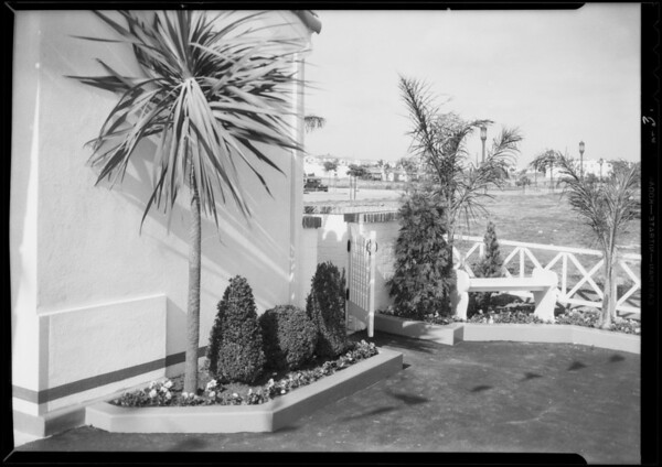New station, daytime, Westwood, Los Angeles, CA, 1933