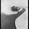 Asphalt on roads at Hollywood Riviera, Redondo Beach, CA, 1932