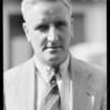 Pick up service & portrait, MacLaren Service, Pasadena, CA, 1932
