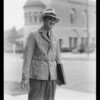 Overcoat and suede jacket, Southern California, 1933