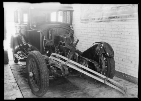 Buick, W.E. Jordan owner, Southern California, 1931