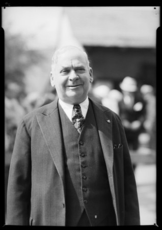 Installation of Paul D. House as new president, Southern California, 1932