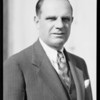 Portrait of Mr. Wilcox, Southern California, 1933
