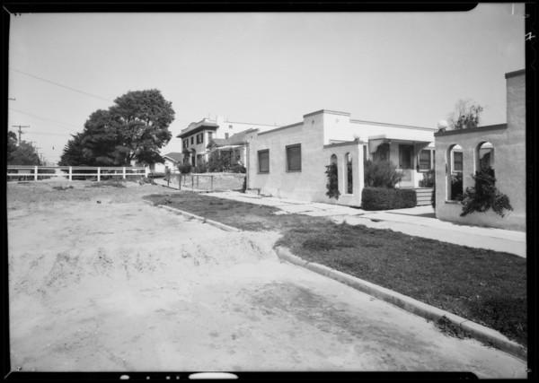 Point Fermin landslide, Los Angeles, CA, 1932