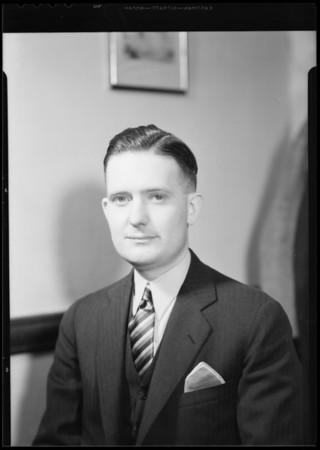 Portrait of Mr. Jones, Jr., Southern, California, 1932