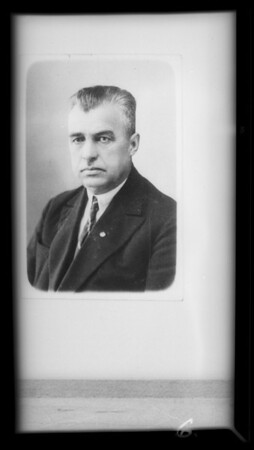 Portraits, Southern California, 1932