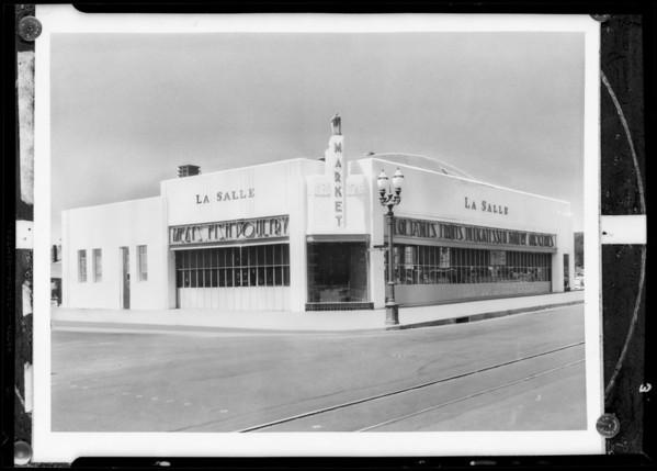 La Salle market, Southern California, 1932