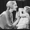 Estelle Etterre-mother, Mary Jane-Healey-baby, Southern California, 1931