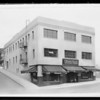 Retouched print of building, Southern California, 1932