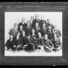 Fraternity group, Southern California, 1932