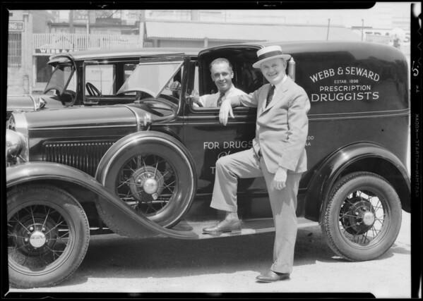 Mr. Seward of Pasadena, CA, 1933