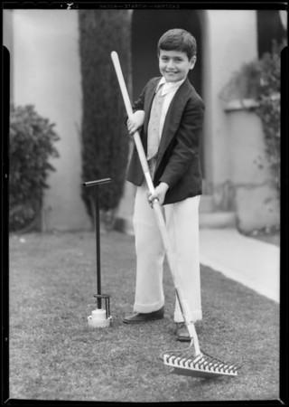 Rake, Southern California, 1932