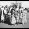 Group of Spanish children, Southern California, 1931