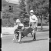 'Yabutt & Cherrilly', bicycle derby, etc., Southern California, 1934