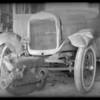 Ford sedan, John R. Story, owner, Southern California, 1932