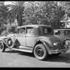 Studebaker President Eight, coroner's office at 620 West 18th Street, Los Angeles, CA, 1931