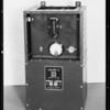 Switch box etc., odd shots, Southern California, 1931