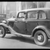 Ford sedan, W.H. Garrison, owner, Southern California, 1934