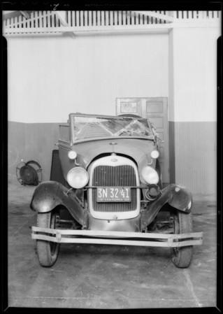 Ford, Dr. R.A. Brigham, assured, Southern California, 1933