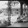 Girls school, Azusa, CA, 1933