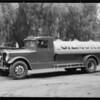 Gilmore gasoline truck, Southern California, 1931