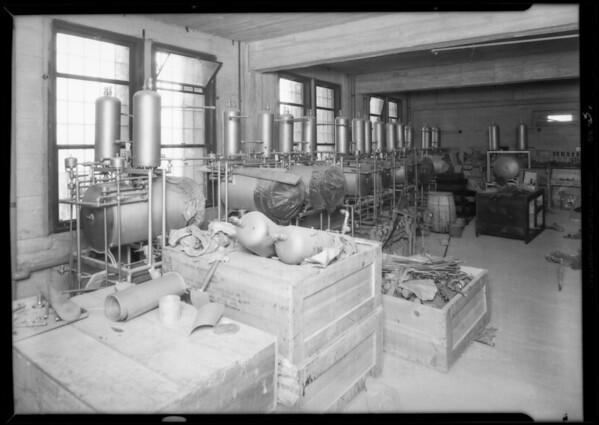 County Hospital, American Sterilizer, Los Angeles, CA, 1931