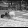 Snow scenes at Big Pine, Southern California, 1931