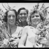 Burtnett's negatives, gladiola show, Southern California, 1932